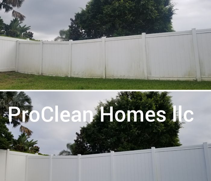 Fence pressure washing in Tampa improves air quality.
